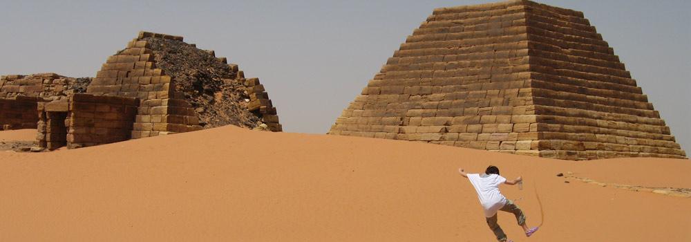Nubian pyramids in Sudan