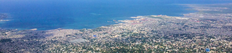 Panoramic view of Port-au-Prince, Haiti