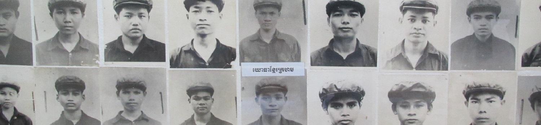Photos of S21 prisoners in Phnom Penh, Cambodia