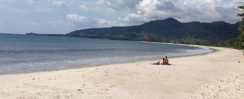 Beach in Sierra Leone