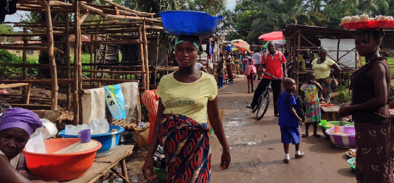 Woman In Market