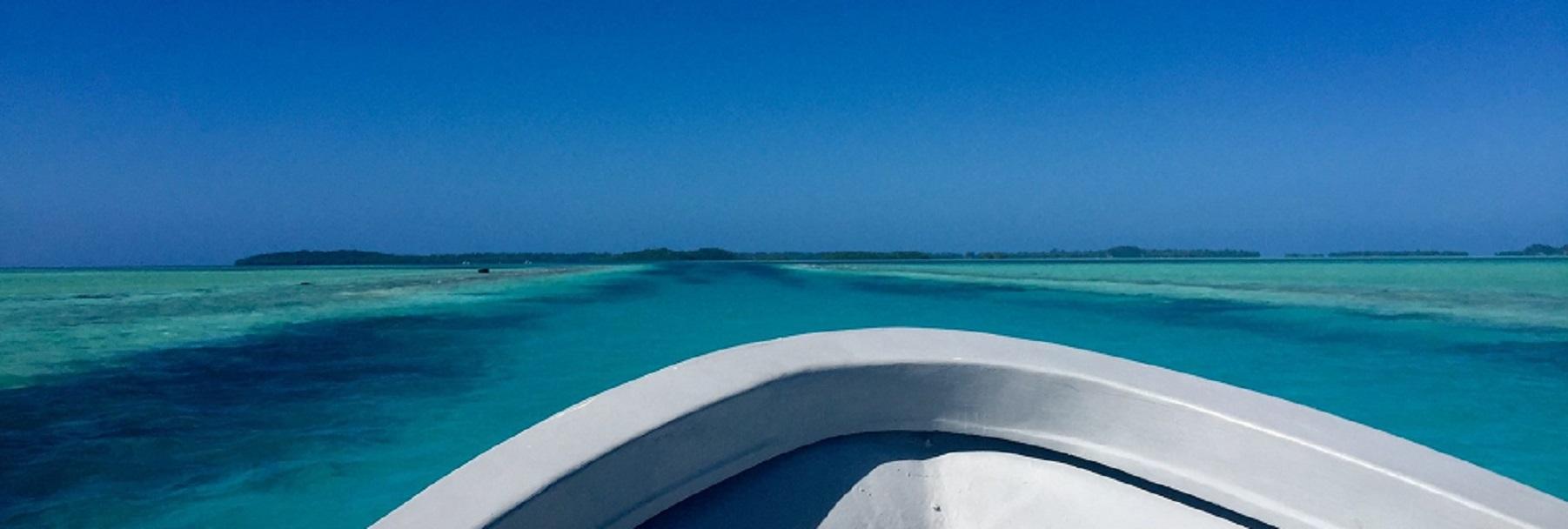 Boat POV in Palau