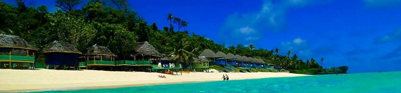 Beach in Samoa