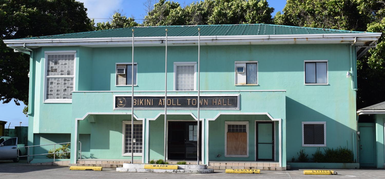 Bikini Atoll town hall building