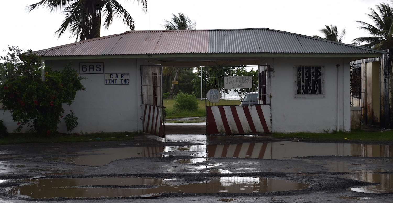 Gas station in Weno, Truk Lagoon