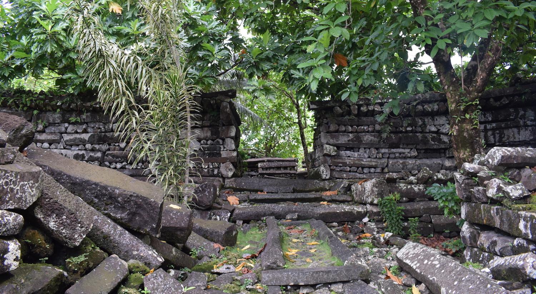 Nan Madol in Micronesia