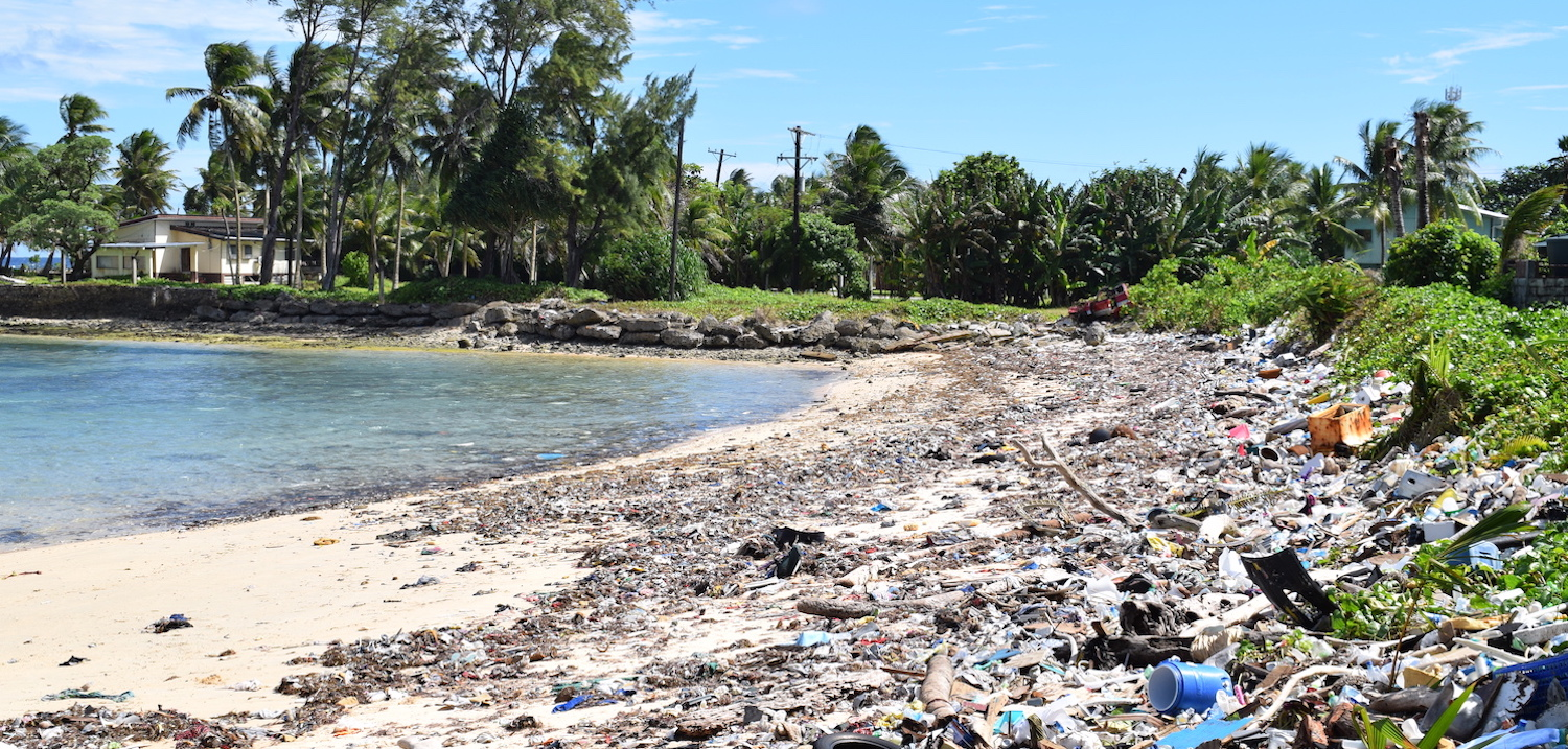 Rubbish and plastics pollution in Micronesia