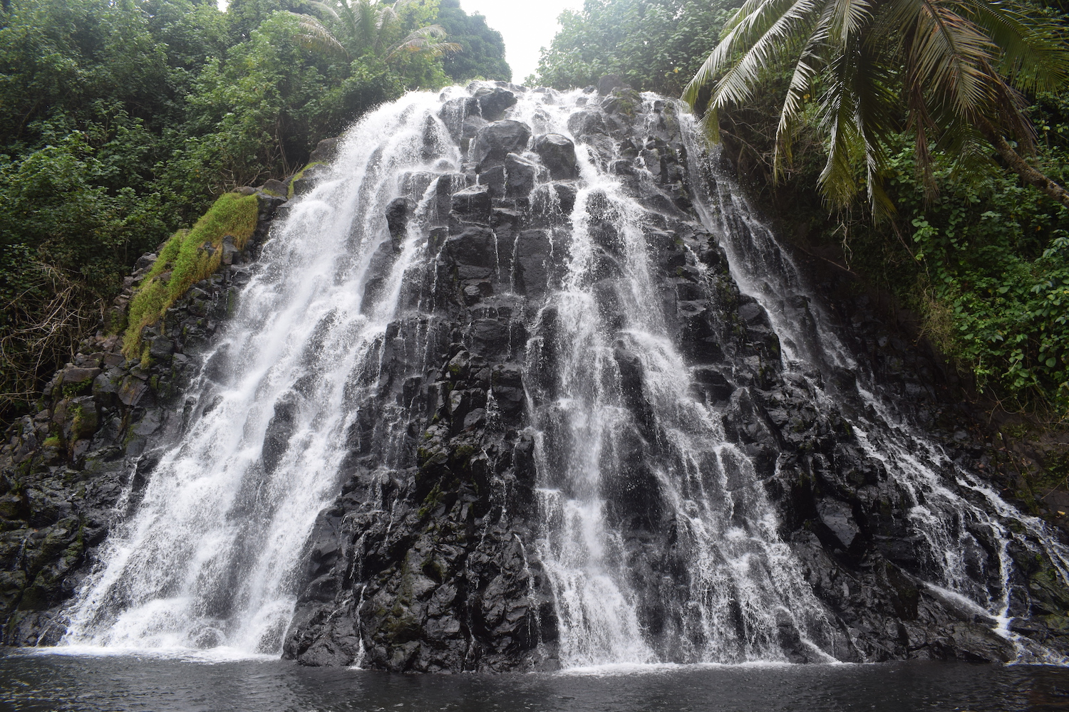 Kepirohi waterfall in Pohnpei