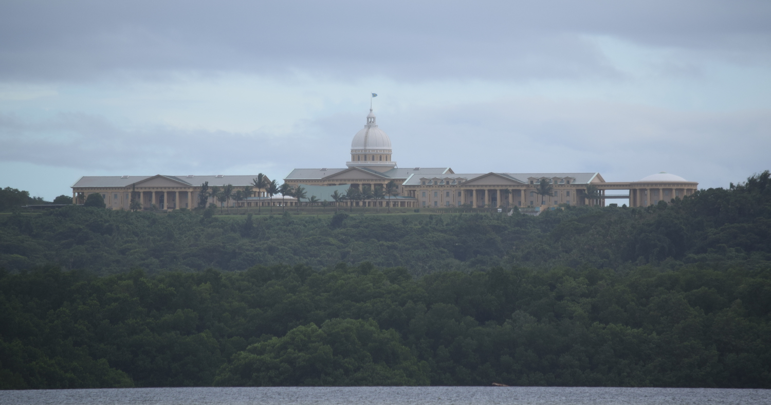 The White House government building in Palau
